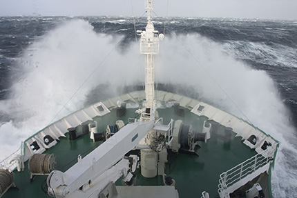 Storm in the Drake Passage